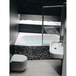 Asymmetrische Badewanne Astra 165x80