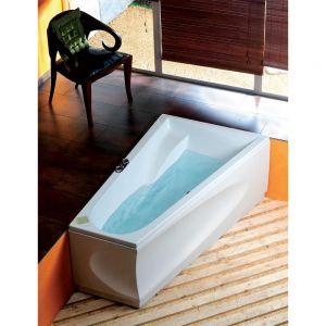 Asymmetrische Badewanne CHIQUITA 170x100x45