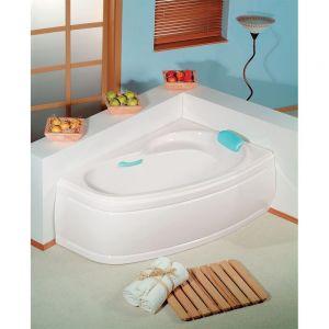 Asymmetrische Badewanne NAOS 170x100x44