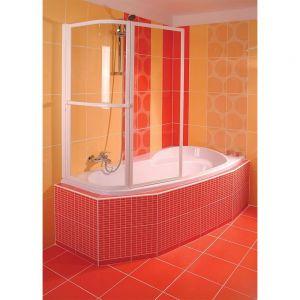 Asymmetrische Badewanne NAOS 158x100x43