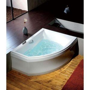Asymmetrische Badewanne TANDEM 170x130x50
