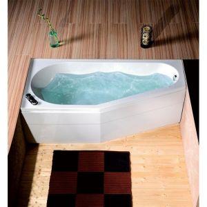Asymmetrische Badewanne TIGRA 170x80x46