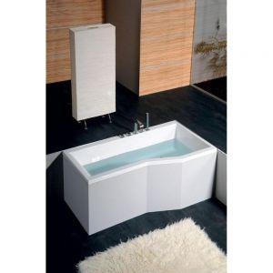 Asymmetrische Badewanne VERSYS 160/170x85x47