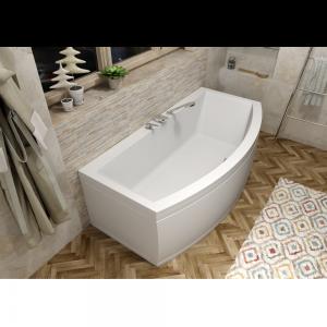 Asymmetrische Badewanne VERVA 170x85/65x40