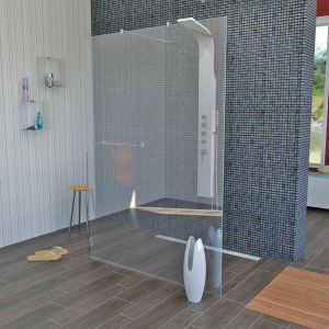 Modular Shower Klarglas 120x200