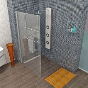 Modular Shower Klarglas 70 x 200